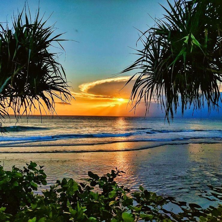 Stunning Sunset on Nusa Lembongan