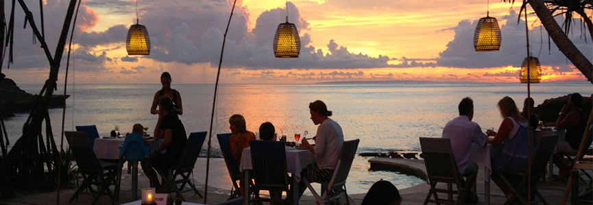 Sandy Bay Beach Club Sunset
