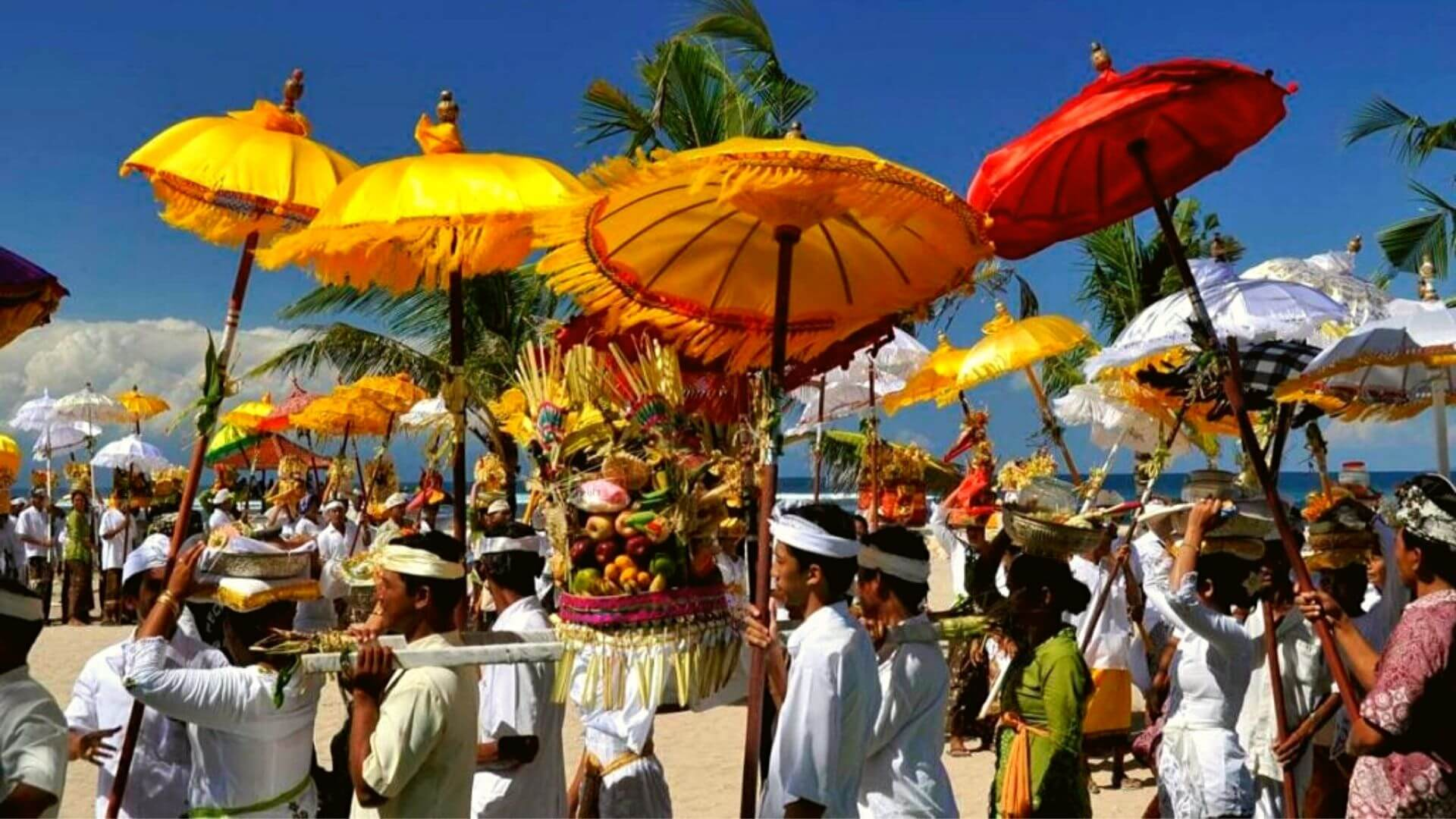 Nyepi on Nusa Lembongan and Bali - 353 Degrees North - Beach Ceremony