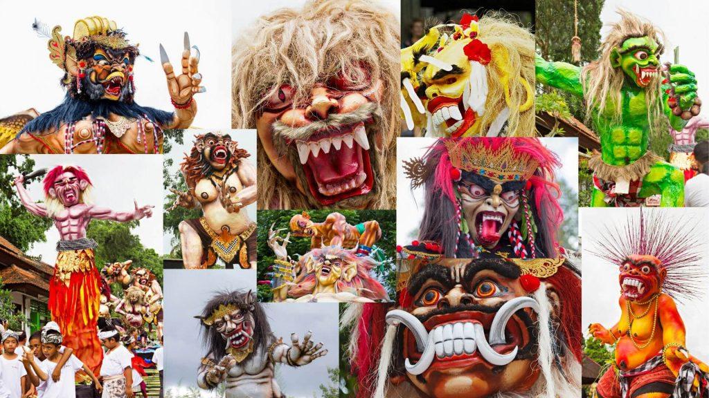 Nyepi on Nusa Lembongan and Bali - OGAH OGAH COLLAGE