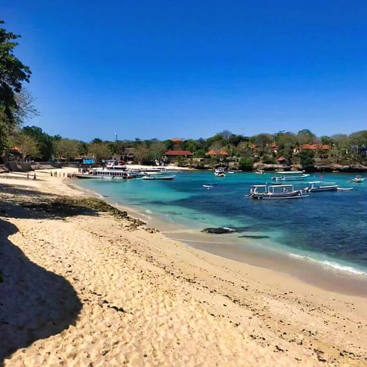 MUSHROOM BEACH IS ONE OF THE BEST BEACHES ON NUSA LEMBONGAN