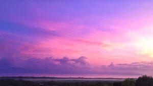 SUNRISE ON NUSA LEMBONGAN, BALI