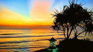 SUNSET FROM NUSA CENINGAN, BALI