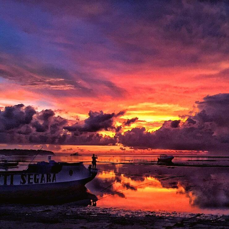 SUNSETS ARE ONE OF THE Top 10 Things To Do and See on Nusa Lembongan