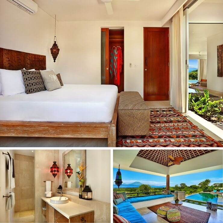 BOOKING GUEST BEDROOM VILLA 353 DEGREES NORTH